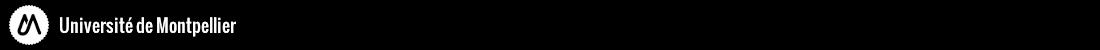 Master sciences de l'eau Logo